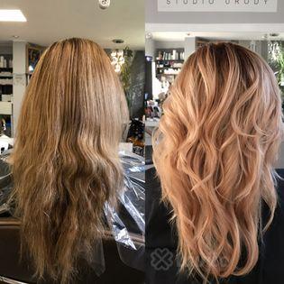 Koloryzacja i farbowanie włosów Katowice