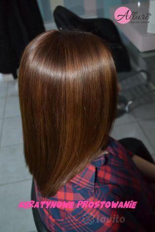 Prostowanie włosów Łódź