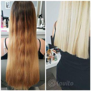 Koloryzacja i farbowanie włosów Rymanów